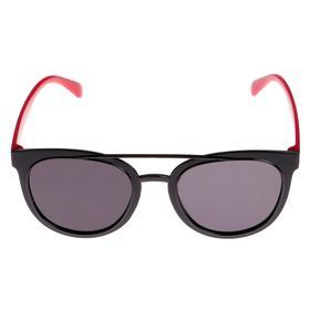 Очки солнцезащитные детские, оправа и дужки дву × цветные, МИКС, стёкла тёмные, 13.5 × 13.5 см Ош
