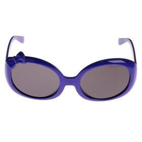 Очки солнцезащитные детские 'Бант', оправа и линзы однотонные, выпуклые, МИКС, 13 × 12 × 4.5 см Ош