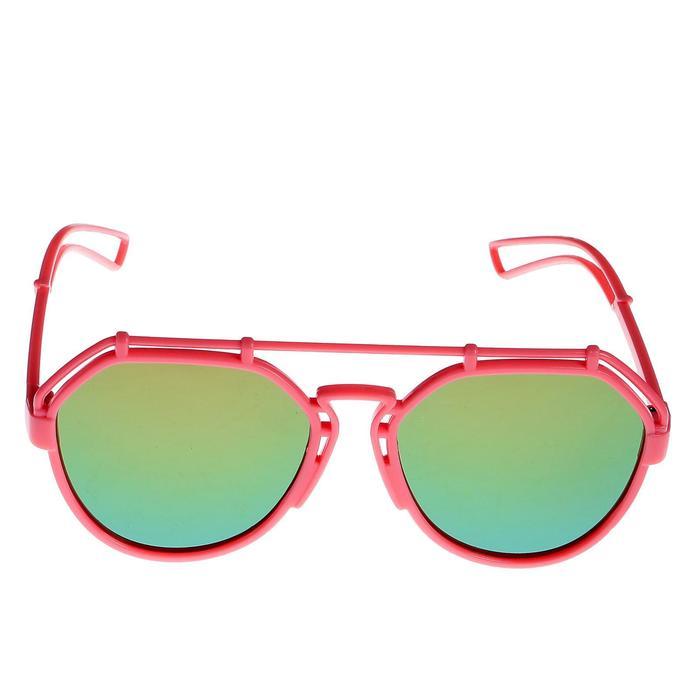 """Очки солнцезащитные детские """"Авиаторы"""", оправа круглая снизу, МИКС, 13 × 12.5 × 5.5 см"""