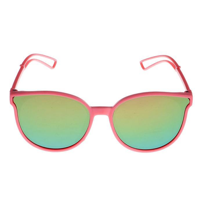 """Очки солнцезащитные детские """"Clubmaster"""", дужки с прорезями, МИКС, 13 × 12.5 × 5.5 см"""