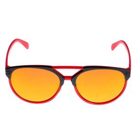Glasses sunglasses kids, frame color, glass mirror, MIX, 13 × 12 × 4.5 cm