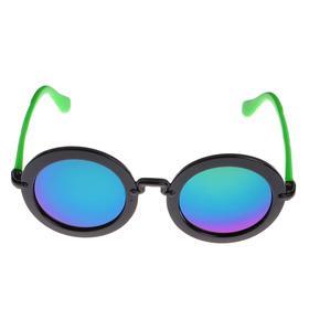 Очки солнцезащитные детские 'Round', оправа круглая, двухцветная, МИКС, 13 × 12.5 × 5 см Ош