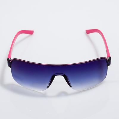 "Очки солнцезащитные детские Оверсайз. Оправа ""Снайпер"" дужки микс, 13.5х12х4 см"