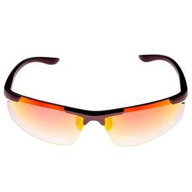 Очки спортивные, линзы прозрачные, uv 400, микс, модная оправа