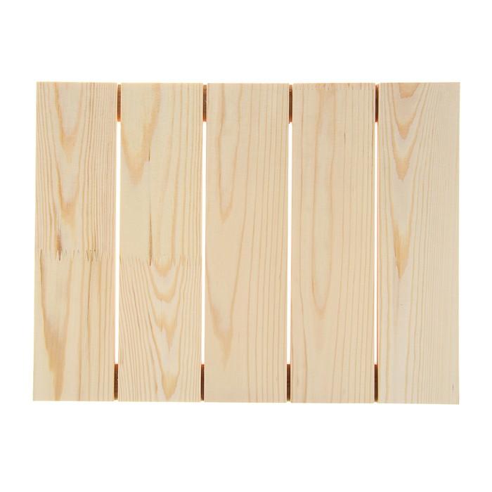 Планшет деревянный модульный 30*40*2,5 сосна Школа художников