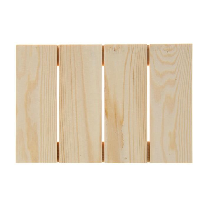 Планшет деревянный модульный 20*30*2,5 сосна Школа художников