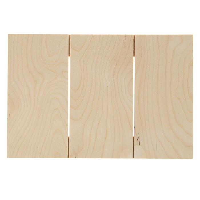 Планшет деревянный модульный 20*30*2 сосна Школа художников