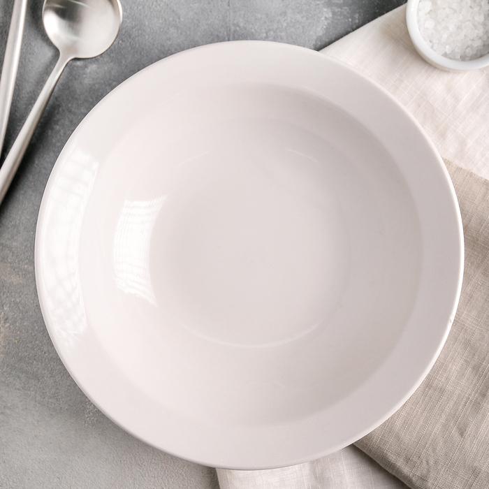 Тарелка глубокая 24 см, 1,2 л