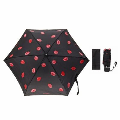 """Зонт механический """"Очаровательные губки"""", R=43см, цвет чёрный"""