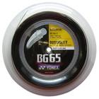 Струна для бадминтона Yonex BG65 (200м в уп.) (Black)