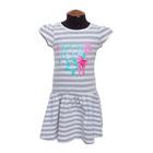 Платье для девочки, рост 98 см, цвет серый DS0024/25