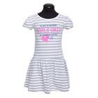 Платье для девочки, рост 134 см, цвет серый DS0034/25