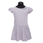 Платье для девочки, рост 134 см, цвет серый DS0035/25