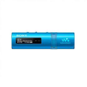 Плеер Flash Sony NWZ-B183FL.EE, 4 Гб, FM, металлический корпус, голубой