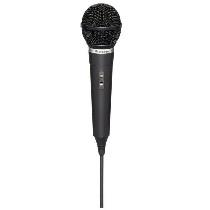 Микрофон проводной Pioneer DM-DV10, 3 м,  динамический, вокальный, черный