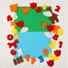 """Игрушка из фетра """"Домашние животные"""", набор: 36 элементов, 2 основы - фото 105532675"""