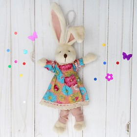 "Soft toy-suspension ""sweetie"" dress in flower socks, MIX colors"