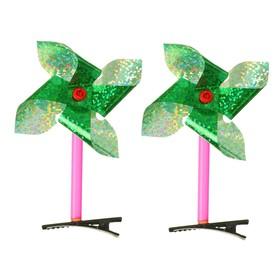 "Carnival clip ""Breeze"" holography, MIX color"