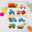 "Educational magnets ""Transportation"", set of 8 PCs"