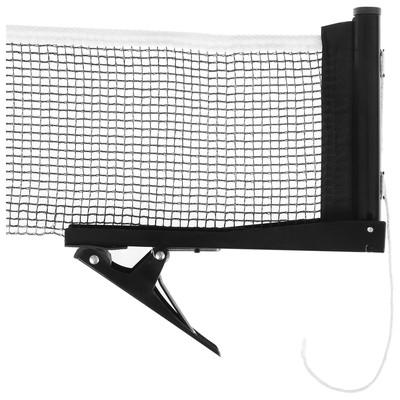 Сетка для настольного тенниса с крепежом, цвет черный