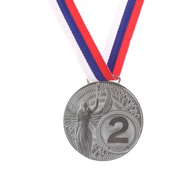 Медаль «Ника», 2 место, серебро, d=4,5 см