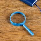 Лупа 3х, d=5.5 см «Классика», микс, фасовка 12 шт., 6х12.5 см