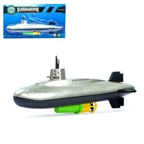 Лодка «Субмарина», работает от батареек