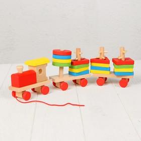 Конструктор «Развивающий паровоз»