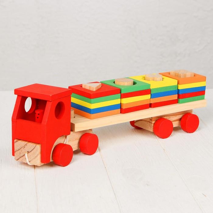 """Конструктор """"Поезд. Цвета и фигуры"""""""