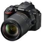 Зеркальный Фотоаппарат Nikon D5600, 24.2 Mpix, 1080 p, Full HD, SDXC Li-ion, черный