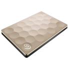 "Внешний жесткий диск Seagate USB 3.0 1 Тб STEH1000201 Ultra Slim 2.5"", цвет золото"
