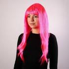 """Карнавальный парик """"Блеск"""", цвет розовый"""