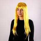 """Карнавальный парик """"Блеск"""", цвет желтый"""