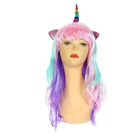 Карнавальный парик «Единорог»