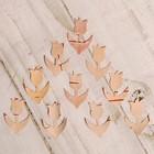 Набор заготовок для творчества «Тюльпаны», 10 шт, 2,5х1,7 см, береста