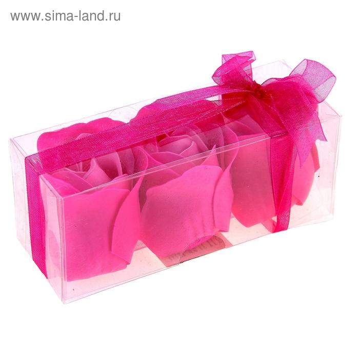 """Мыльные лепестки (набор 3 шт) """"Нежность"""", цвета МИКС"""