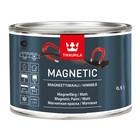 Краска магнитная MAGNETIC серая матовая Тиккурила 0,5л