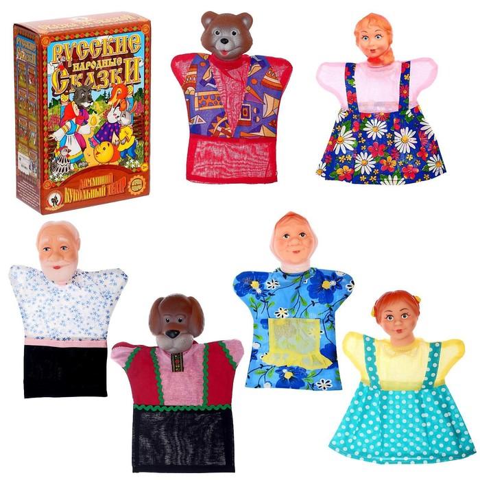 Кукольный театр «Маша и медведь» в новой упаковке - фото 1552951