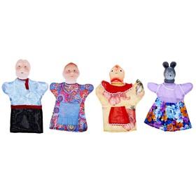 Кукольный театр «Курочка Ряба», 4 персонажа