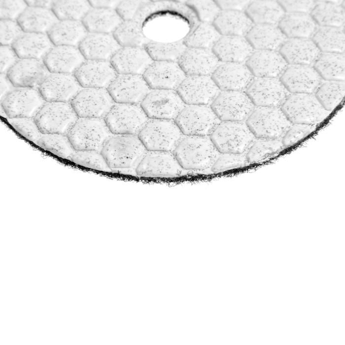 Алмазный гибкий шлифовальный круг TUNDRA premium, 100 мм, № 50 для сухой шлифовки