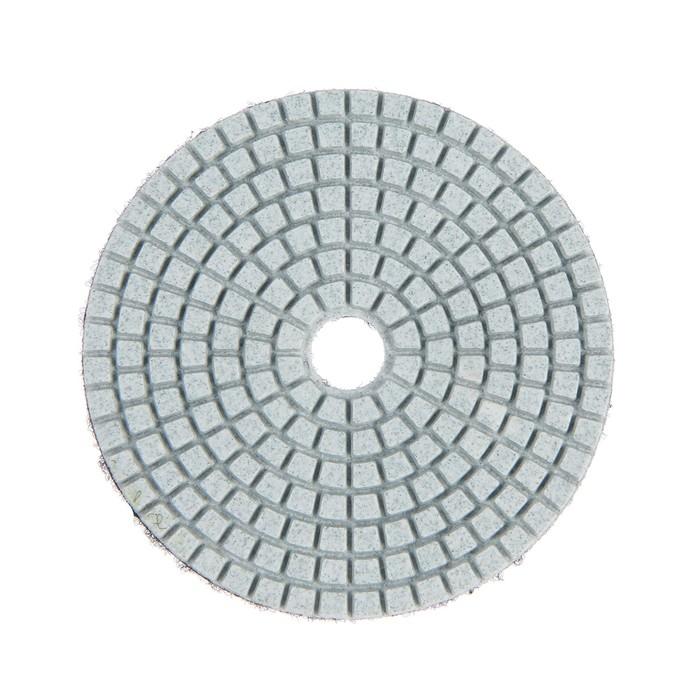 Алмазный гибкий шлифовальный круг TUNDRA premium, 100 мм, № 100 для мокрой шлифовки