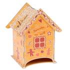 Чайный домик «Пряничный домик», со съёмной крышкой, 13х8х22 см