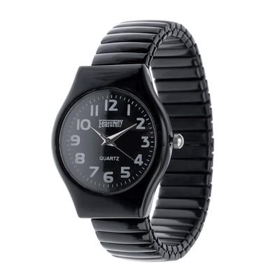 """Часы наручные женские """"Featurely"""", браслет """"резинка"""" d-3см,  микс"""