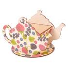 """Чайный домик """"Чайничек с ягодами"""" 15х8,5х10см"""