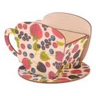 "Чайный домик Чашка с ягодами"" 8х8,5х9см"