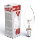 Лампа накаливания BELLIGHT, ДС, свеча, 60 Вт, Е14, 230 В