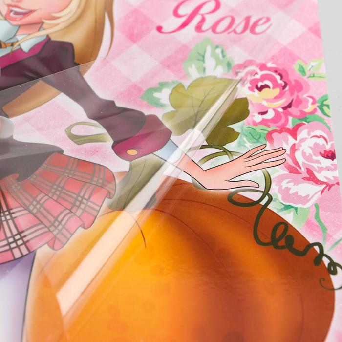 """Картина стразами и блестками """"Роуз"""", Королевская академия + форменные пайетки"""