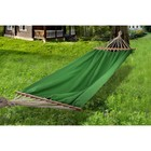 Hammock made of linen with strap green RG-14
