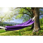 Hammock made of linen purple RG-15