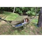"Hammock with mosquito net camouflage ""figure"" with a pocket under the foam RG-16"